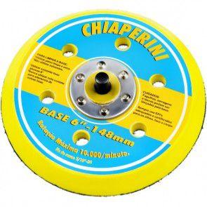 Base 6'' P/Lixadeira C/Velcro 148 MM Chiaperini