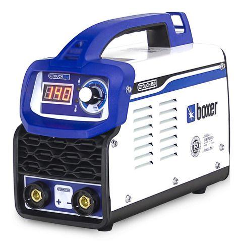 BOXER FONTE INVERSORA 140 AMP FLAMA TOUCH 150 BV