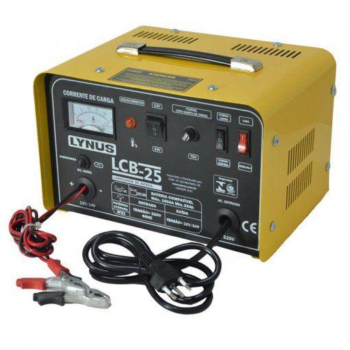 Carregador De Bateria LCB-25 Lynus