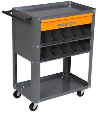CARRO P/FERRAMENTAS 1GAV 20 GAVETAS PLASTICAS