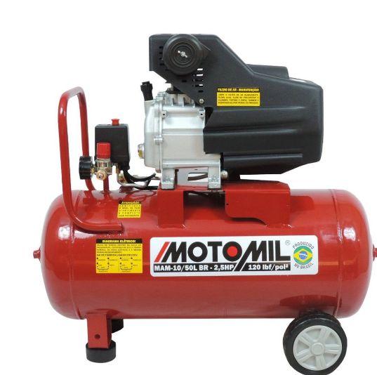 Motocompressor Ar 120LBD 50L 2,5 HP 220V Motomil