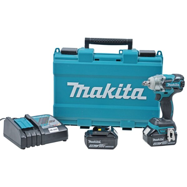 "MAKITA CHAVE IMPACTO 1/2"" BAT.18V DTW285RME"