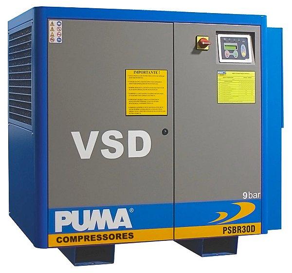 Compressor Parafuso 30CV 09Bar 380V PSBR30 Puma