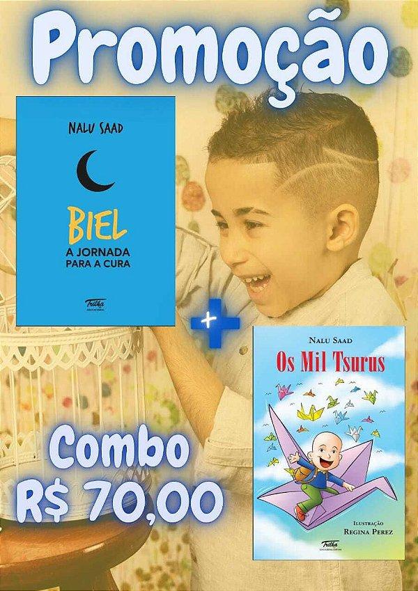 KIT 2 Livros ( Biel: A jornada para a cura e o Os Mil Tsurus)