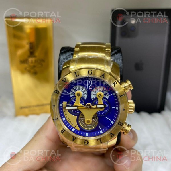 Hybrid Gold - Fundo Blue