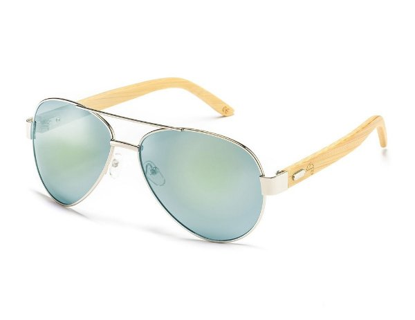 Aviator Bamboo Light Blue