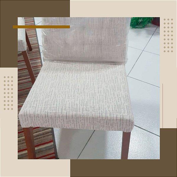 Cadeira Creme Estofadas Móveis
