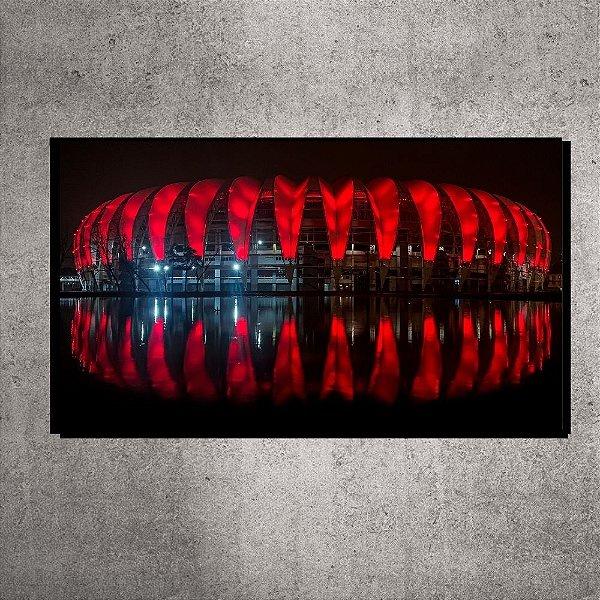Quadro Panorâmico - Pequeno - Estádio Beira-Rio - 60cmx22cm. BRP1