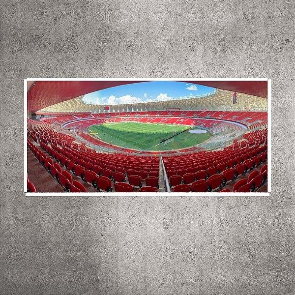 Quadro panorâmico - Pequeno - Estádio Beira-Rio - 60cmx15cm. BRP2