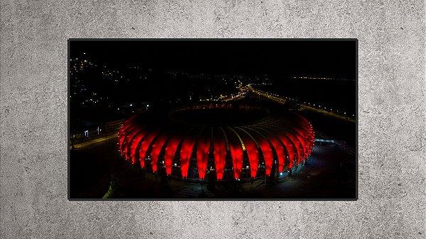 Quadro - Estádio Beira-Rio - Imagem aérea - 90cmx50xcm. BR4