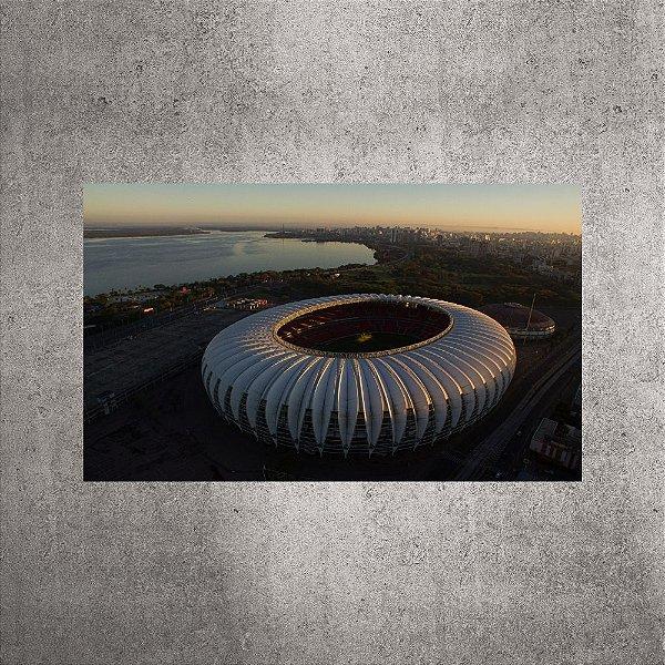 Imagem impressa - Imagem Aérea - Estádio Beira-Rio - 90cmx54cm. BRI5