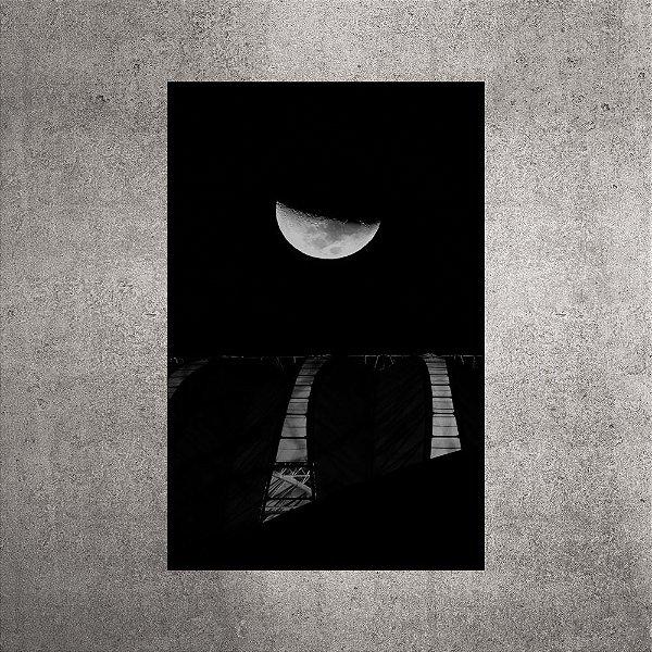 Imagem impressa - Lua - 90cmx58cm. BRI7