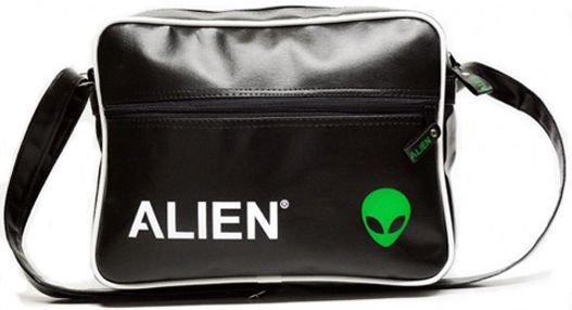 Bolsa Transversal Alien Black Green