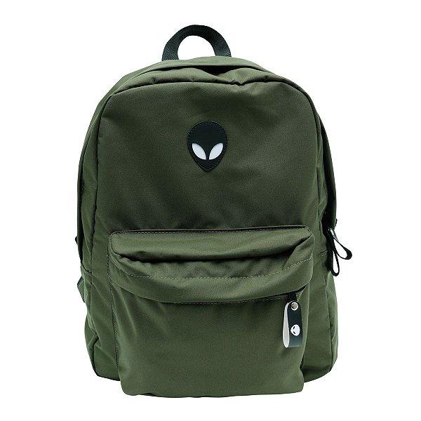 Mochila Alien military green com suporte para Notebook