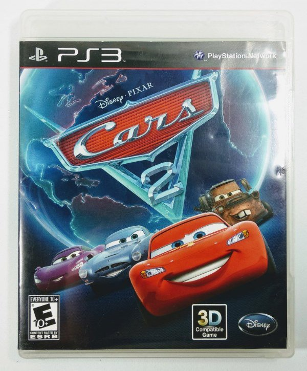 Jogo Disney Cars 2 - PS3
