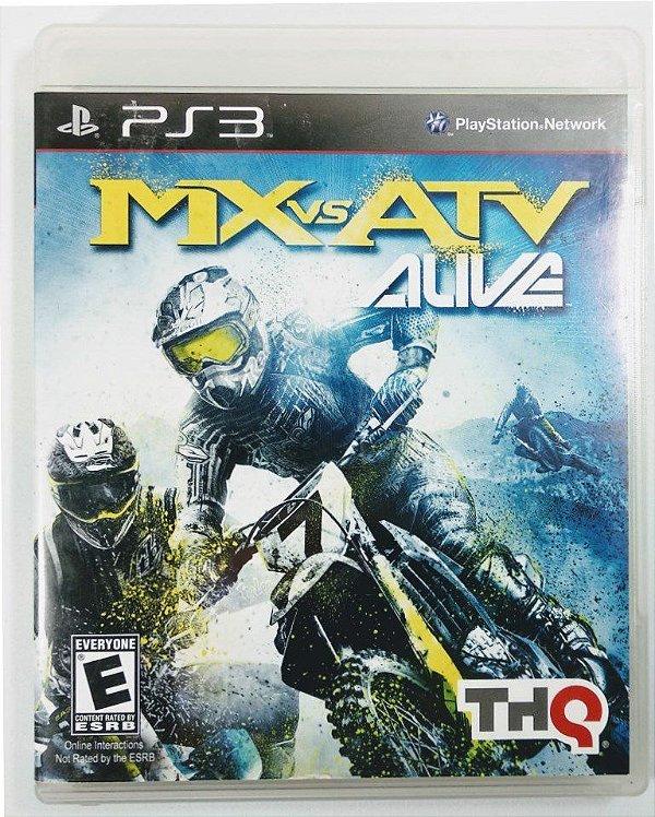 Jogo Mx vs Atv Alive - PS3