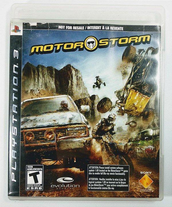 Jogo Motor Storm - PS3