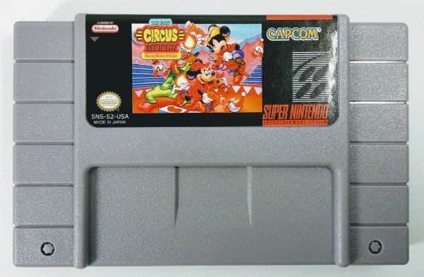 Jogo The Great Circus Mistery S. Mickey & Minnie - SNES
