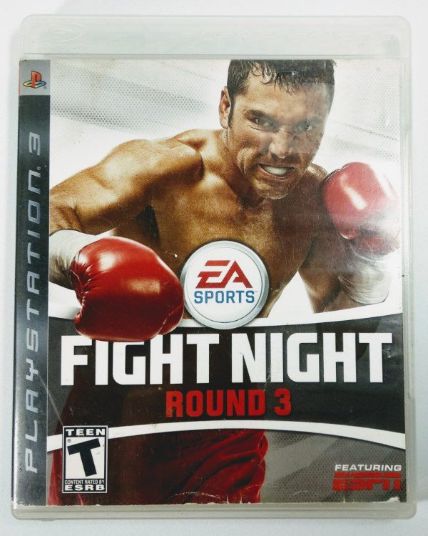 Jogo Fight Night Round 3 - PS3