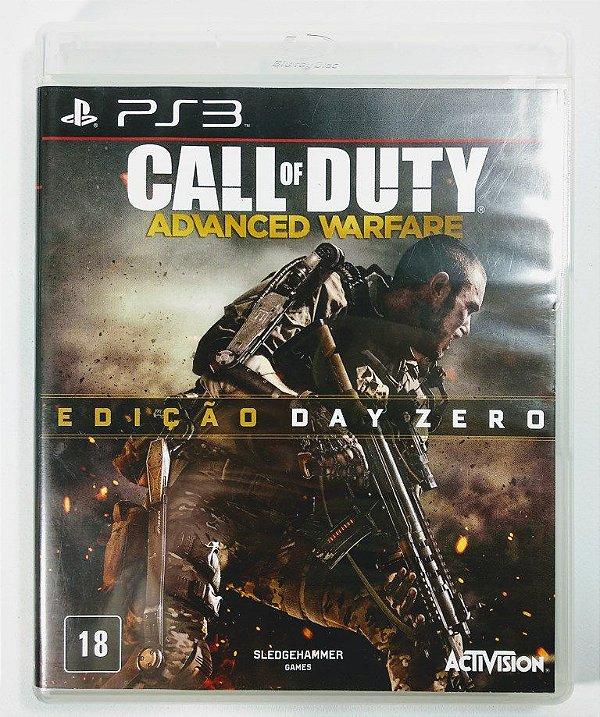 Jogo Call of Duty Advanced Warfare edição Day Zero - PS3