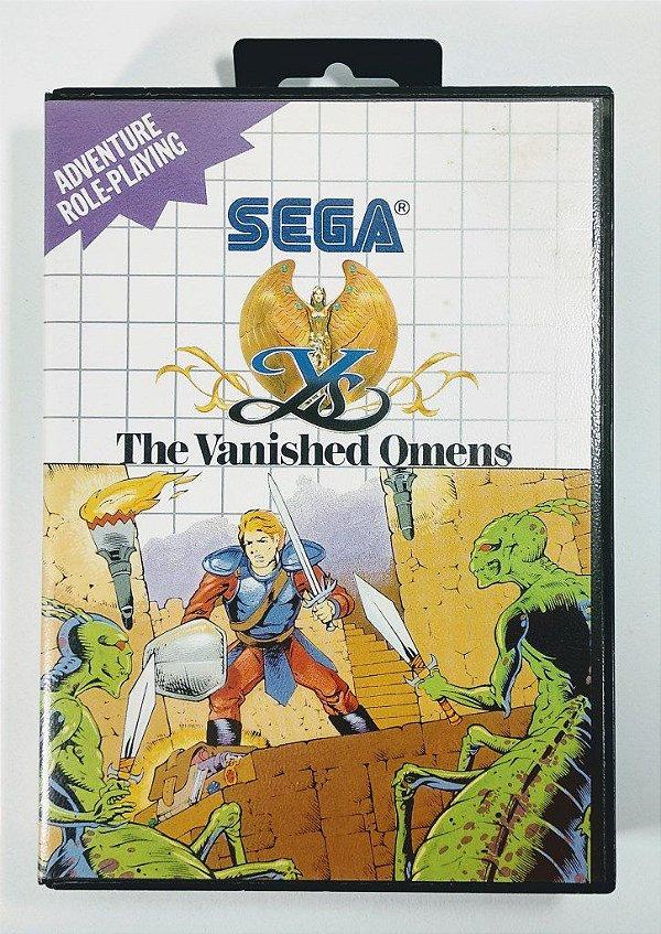 Jogo YS The Vanished Omens - Master System