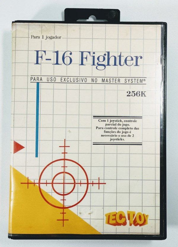 Jogo F-16 Fighter - Master System