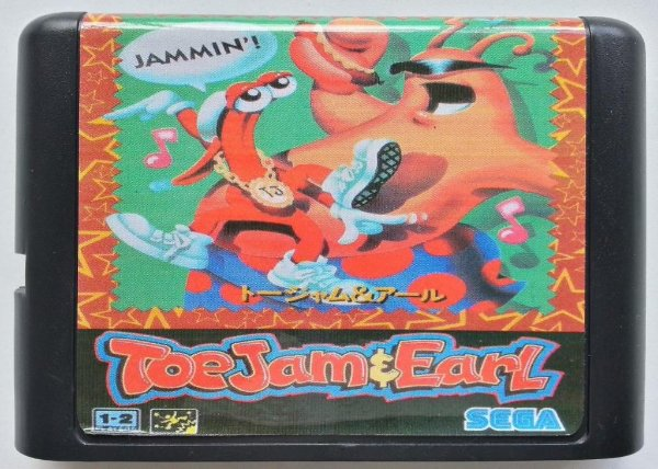 Jogo ToeJam & Earl - Mega Drive