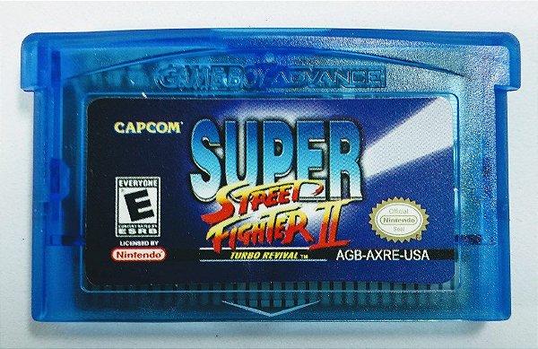 Jogo Super Street Fighter II - GBA
