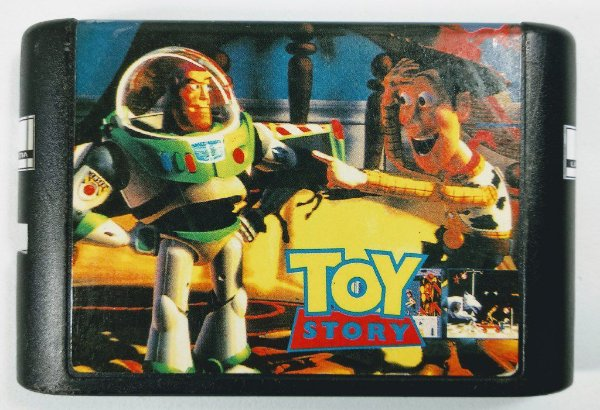 Jogo Toy Story - Mega Drive