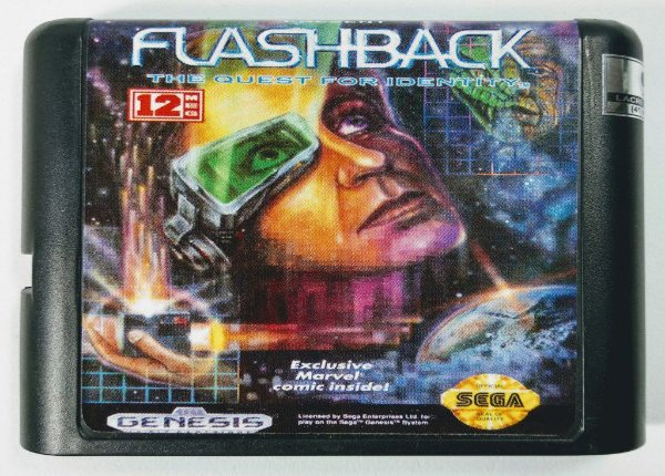 Jogo Flashback - Mega Drive