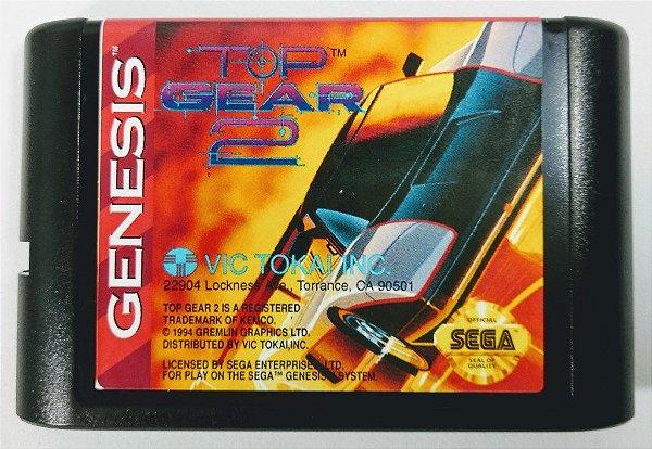 Jogo Top Gear 2 - Mega Drive
