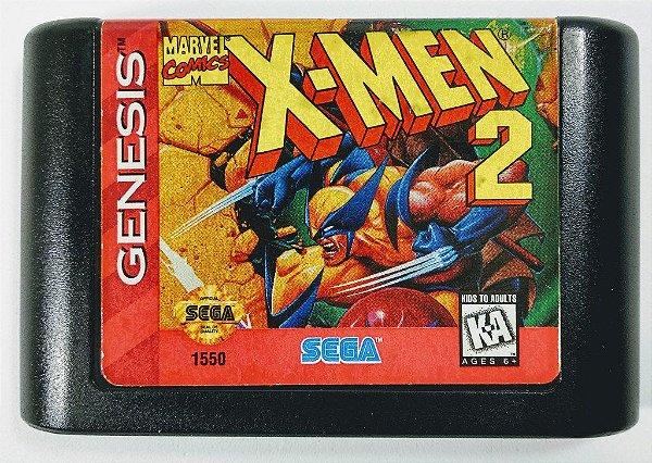 Jogo X-men 2 Clone Wars original - Mega Drive