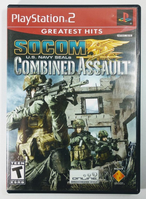 Jogo Socom Combined Assault Original - PS2