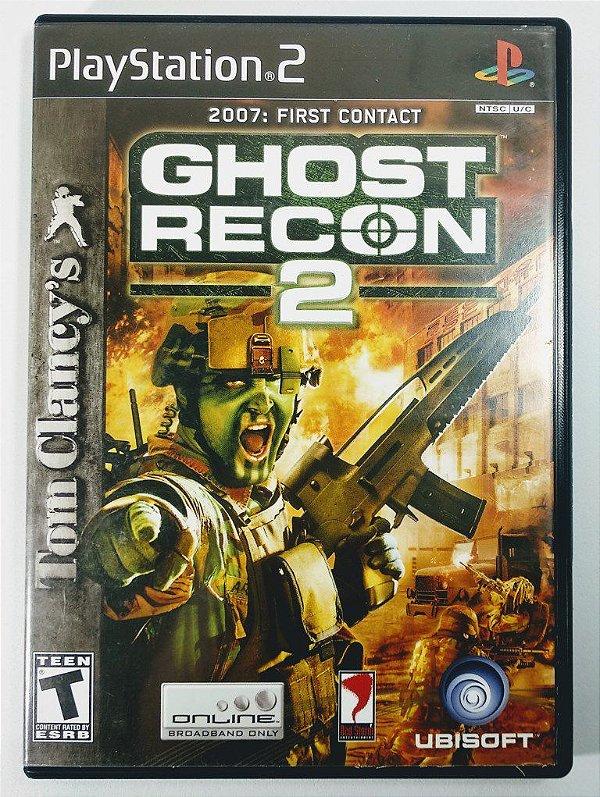 Jogo Ghost Recon 2 Original - PS2