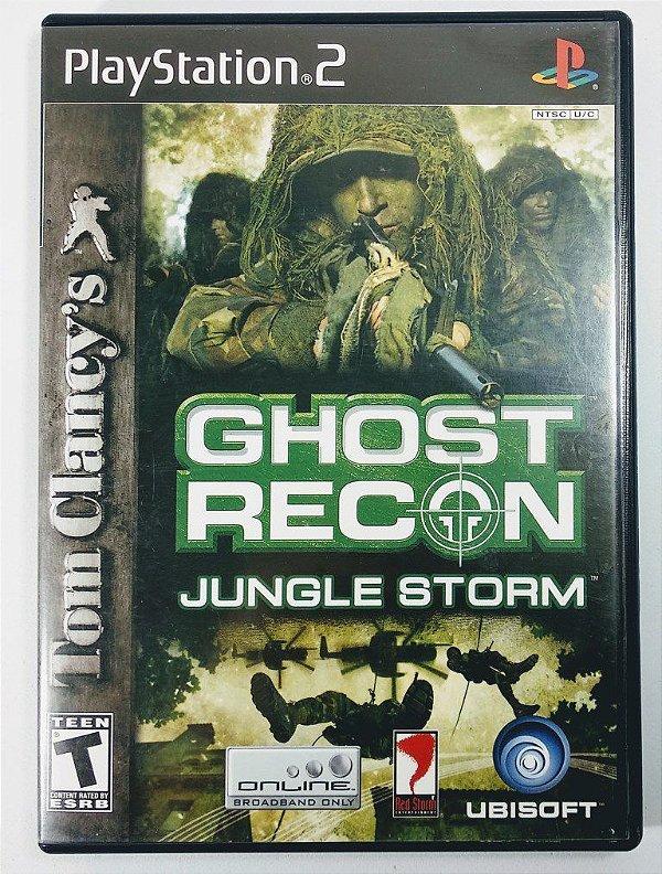 Jogo Ghost Recon Jungle Storm Original - PS2