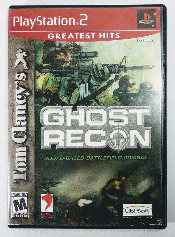 Jogo Ghost Recon Original - PS2