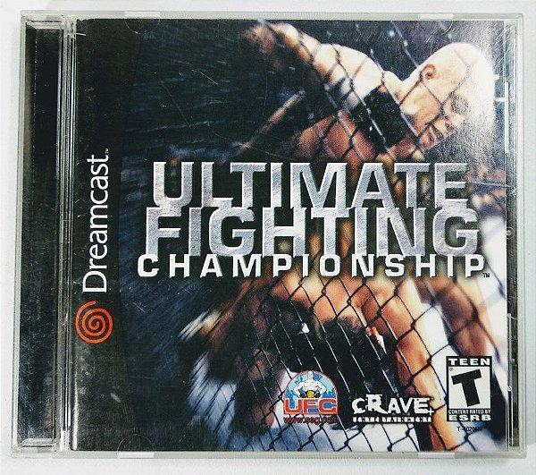 Jogo Ultimate Fighting Championship Original - Dreamcast