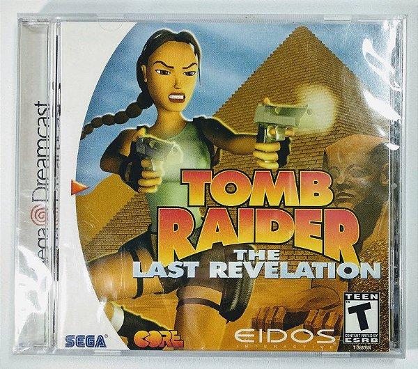 Tomb Raider Last Revelation Original (LACRADO) - Dreamcast