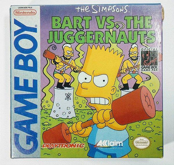 Jogo The Simpsons Bart vs. The Juggernauts Original - GB