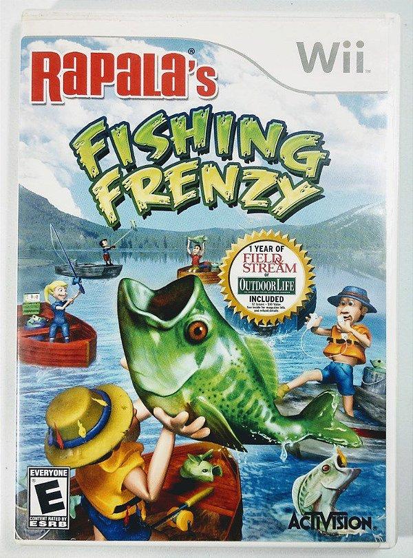 Jogo Rapalas Fishing Frenzy - Wii