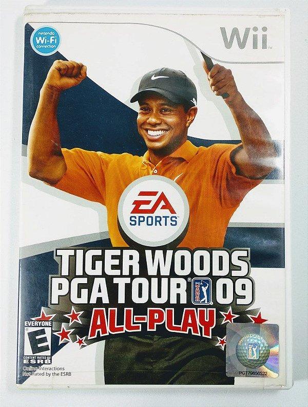 Jogo Tiger Woods PGA Tour 09 All-Play - Wii