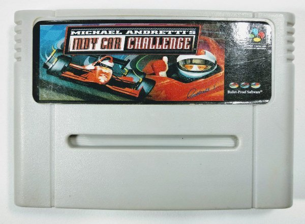 Jogo Nigel Mansell Indy Car - SNES