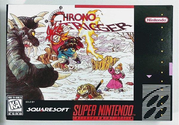Jogo Chrono Trigger (em Português) - SNES