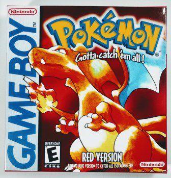 Jogo Pokemon Red - GBC