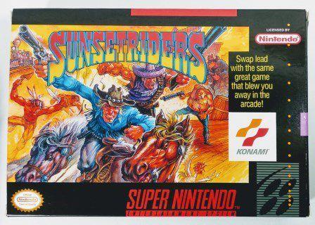 Jogo Sunset Riders - SNES
