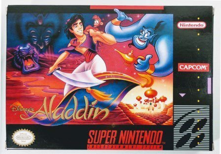Jogo Aladdin - SNES