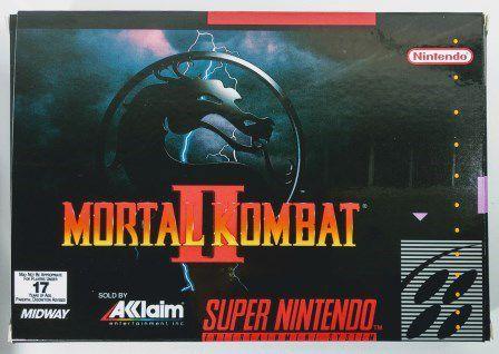 Jogo Mortal Kombat 2 - SNES