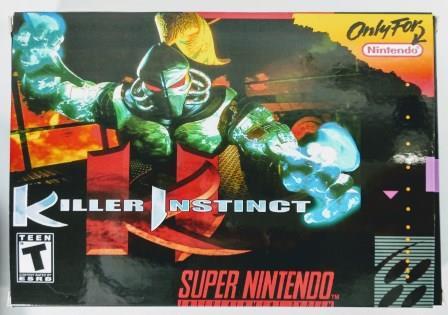 Jogo Killer Instinct - SNES