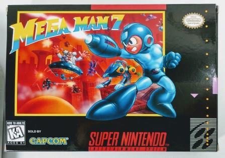 Jogo Mega Man 7 - SNES