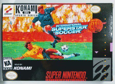 Jogo International Superstar Soccer Deluxe - SNES